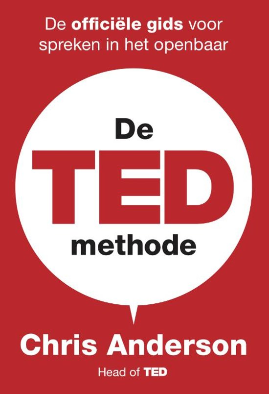 De TED-methode - Chris Anderson