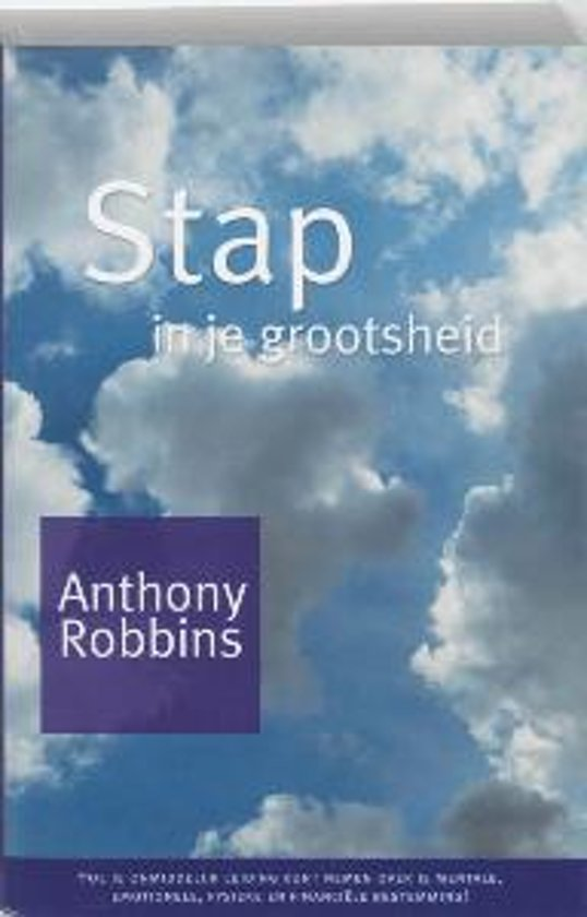 Stap In Je Grootsheid - Anthony Robbins